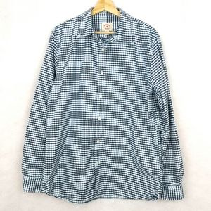 Brooks Brothers Red Fleece Checkered Button Down